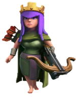 X Bow Clash Of Clans Archer Queen - Clash o...