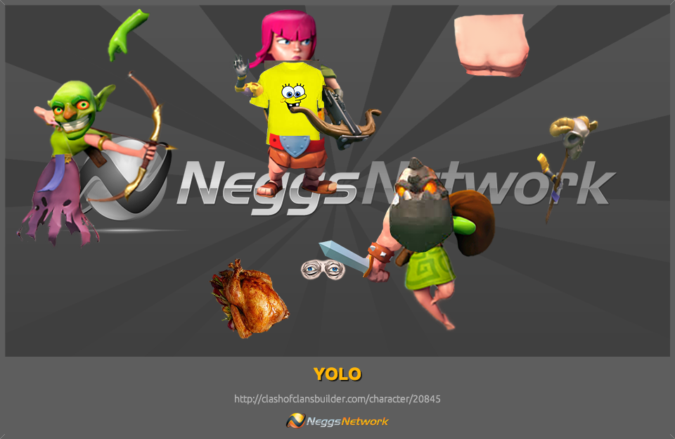 Yolo Character Clash Of Clans Builder