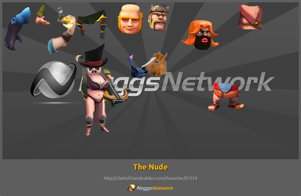 clash of clans girls naked