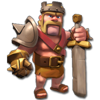 barbarian king arena records clash of clans builder