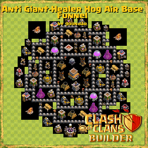 Clash of Clans Builder - Base Design Strategies and Base Plans