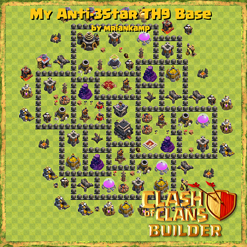 clash of clans builder base design strategies and base plans