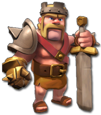 clash of clans barbarian king levels